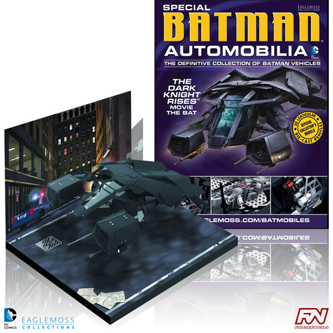 BATMAN AUTOMOBILIA: The Dark Knight Rises (The Bat) Special Edition