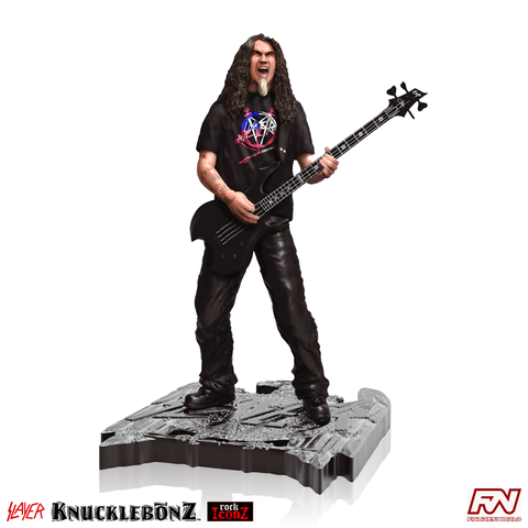 ROCK ICONZ: SLAYER Tom Araya Statue