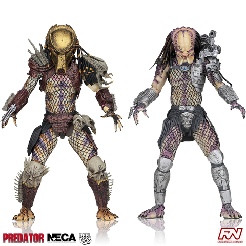 "PREDATOR: Ultimate Bad Blood vs Enforcer 7"" Scale Action Figure 2-Pack"