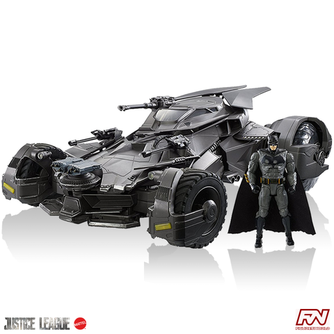 JUSTICE LEAGUE™: Ultimate 1/10 Scale Remote Control Batmobile™ Vehicle + Figure