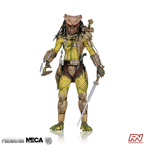 "PREDATOR 2: Ultimate Elder: The Golden Angel 7"" Scale Action Figure"