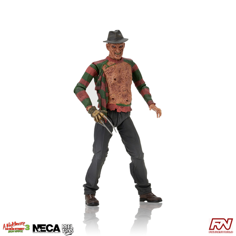 NIGHTMARE ON ELM STREET: DREAM WARRIORS Ultimate Part 3 Freddy Action Figure