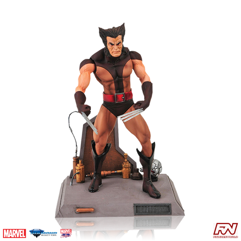 MARVEL SELECT: Brown Wolverine Unmasked Action Figure
