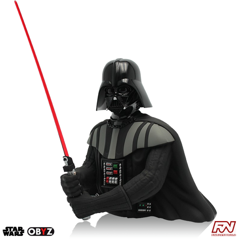 STAR WARS: Darth Vader Bust Money Bank