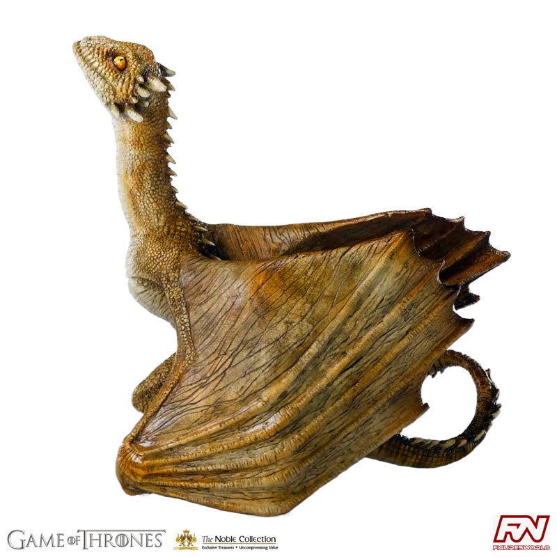 GAME OF THRONES: Viserion Baby Dragon Statue