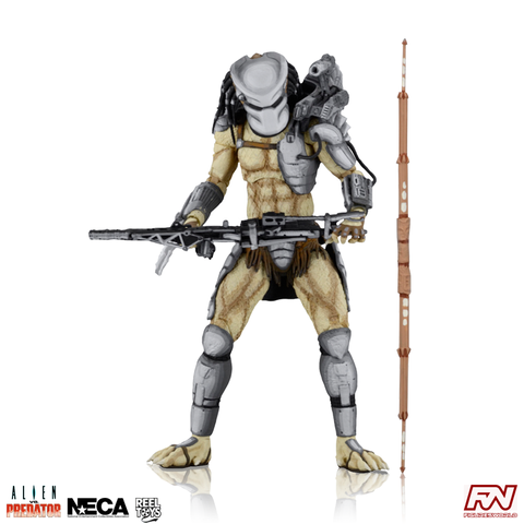 Aliens VS. Predator (Arcade) Predator Warrior 7-Inch Scale Action Figure