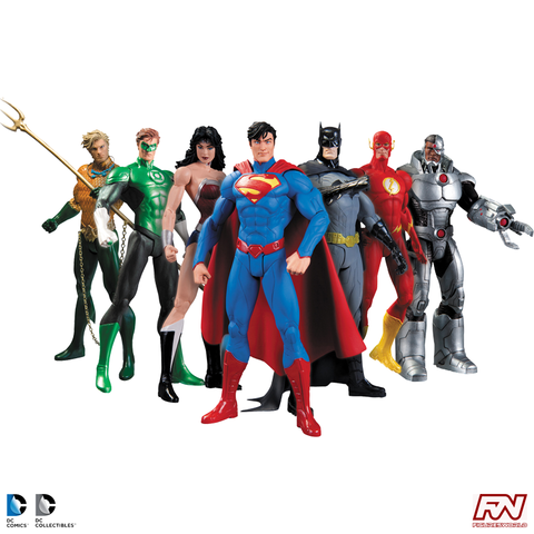 DC COLLECTIBLES: Justice League 7-Pack Action Figure Box Set