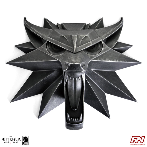 THE WITCHER 3 - WILD HUNT Wolf Wall Sculpture