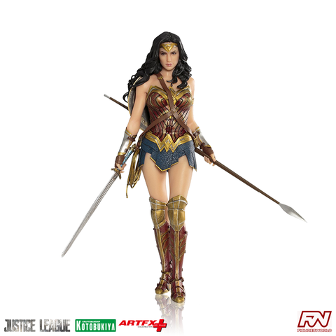 JUSTICE LEAGUE: Wonder Woman ArtFX+ PVC Statue