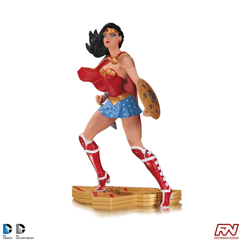 WONDER WOMAN THE ART OF WAR: Wonder Woman Statue by Jim Lee