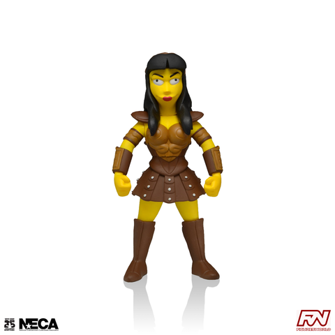 THE SIMPSONS 25th ANNIVERSARY: Lucy Lawless Collectible Action Figure