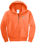 Youth Full-Zip Hooded Sweatshirt (146-0234LC)