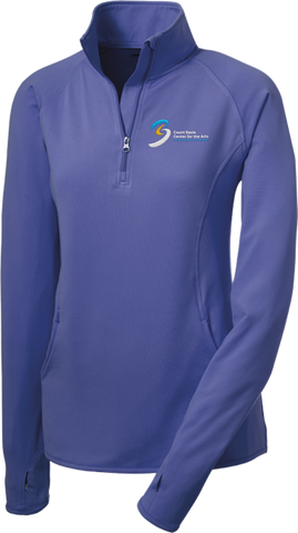 Ladies Sport-Wick Stretch 1/2-Zip Pullover (146-0234LC)