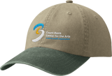 Two-Tone Pigment-Dyed Cap (S3376F)