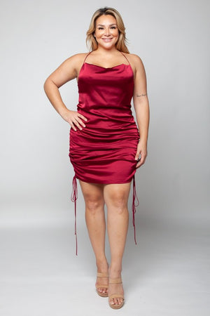 Mamacita Plus Sexy Scrunch Dress