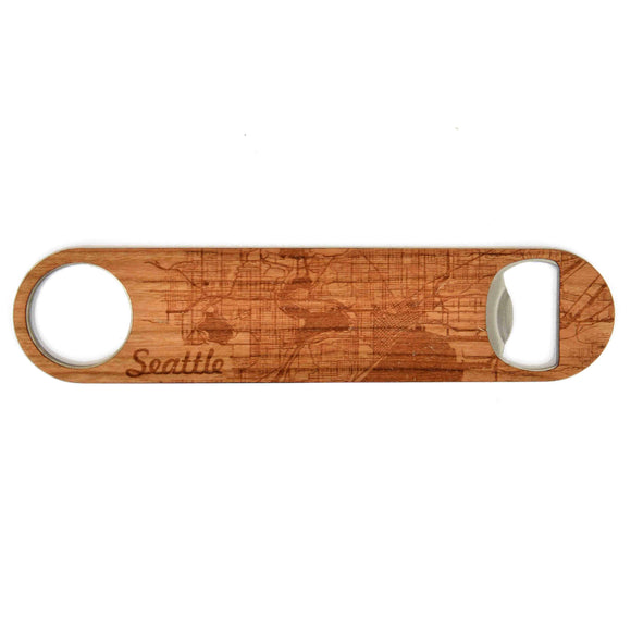 City Map Bottle Opener - American Made Retail Company
