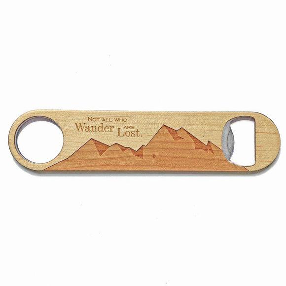 Not All Who Wander Opener - American Made Retail Company