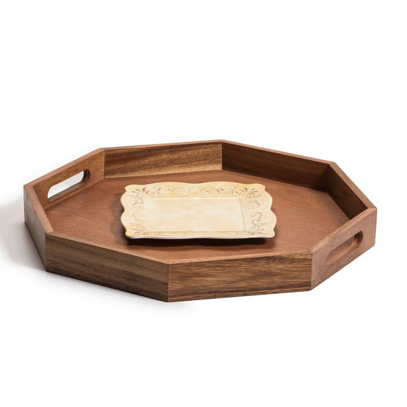 Octagon Serving Tray -17
