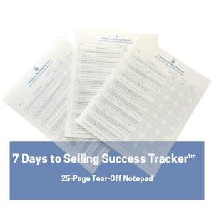 7 Days to Selling Success for Online Business Owners - Notepad