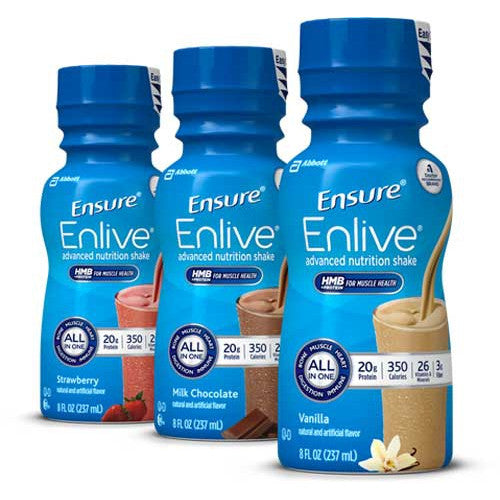 Ensure® Enlive® Advanced Therapeutic Nutrition Shake (24 Per Case)