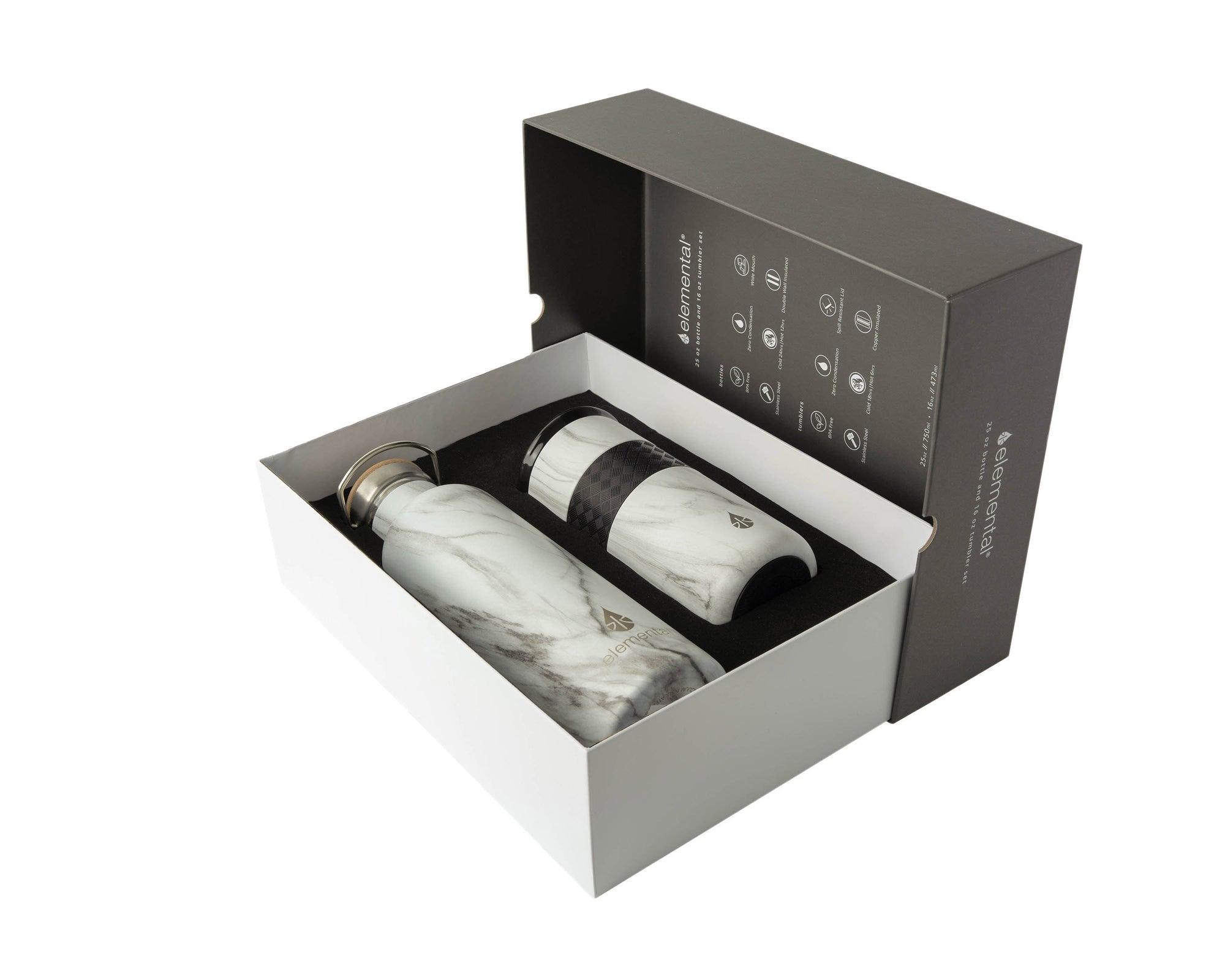 Elemental Gift Set - White Marble