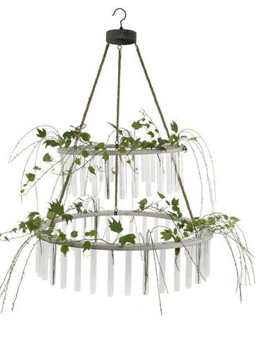 Bloom Hanging Botanical Chandelier
