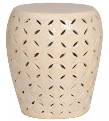 Lattice Stool/Table - Crackle