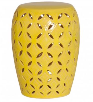 Lattice Stool/Table - Yellow