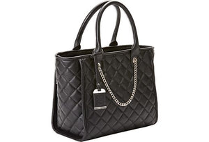Bulldog Quilted Tote Style Conceal Carry Black