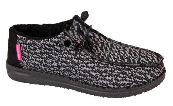 Simply Southern Fleece Slipon-Black