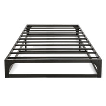 Load image into Gallery viewer, Twin size Modern Low Profile Heavy Duty Metal Platform Bed Frame