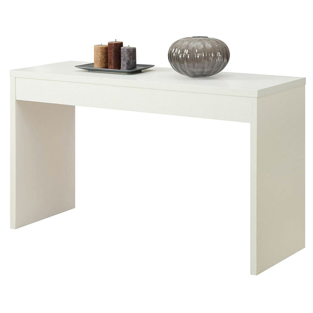 White Sofa Table Modern Entryway Living Room Console Table