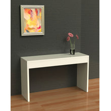 Load image into Gallery viewer, White Sofa Table Modern Entryway Living Room Console Table