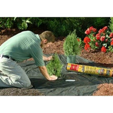 Load image into Gallery viewer, 3' x 100' Weed Control Herbicide Alternative Landscape Fabric