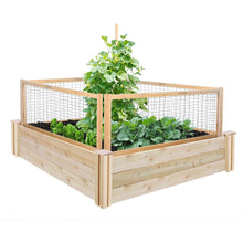Load image into Gallery viewer, 4 Pack Cedar Garden Trellis Set - 45 x 23.5 inch Each - Made in USA