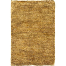 Load image into Gallery viewer, Hand-knotted Vegetable Dye Solo Carmel Hemp Rug (9' x 12')