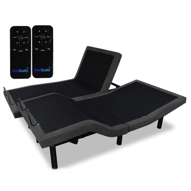 Split King Adjustable Bed Frame Base with Wireless Remote