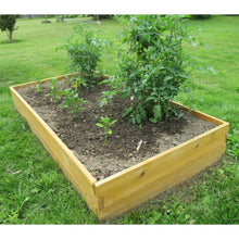 Load image into Gallery viewer, Western Red Cedar Wood 3-Ft x 6-Ft Raised Garden Bed Planter Kit - Made in USA