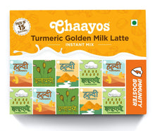 Load image into Gallery viewer, Turmeric Golden Milk Latte Instant Premix (15 Sachets)