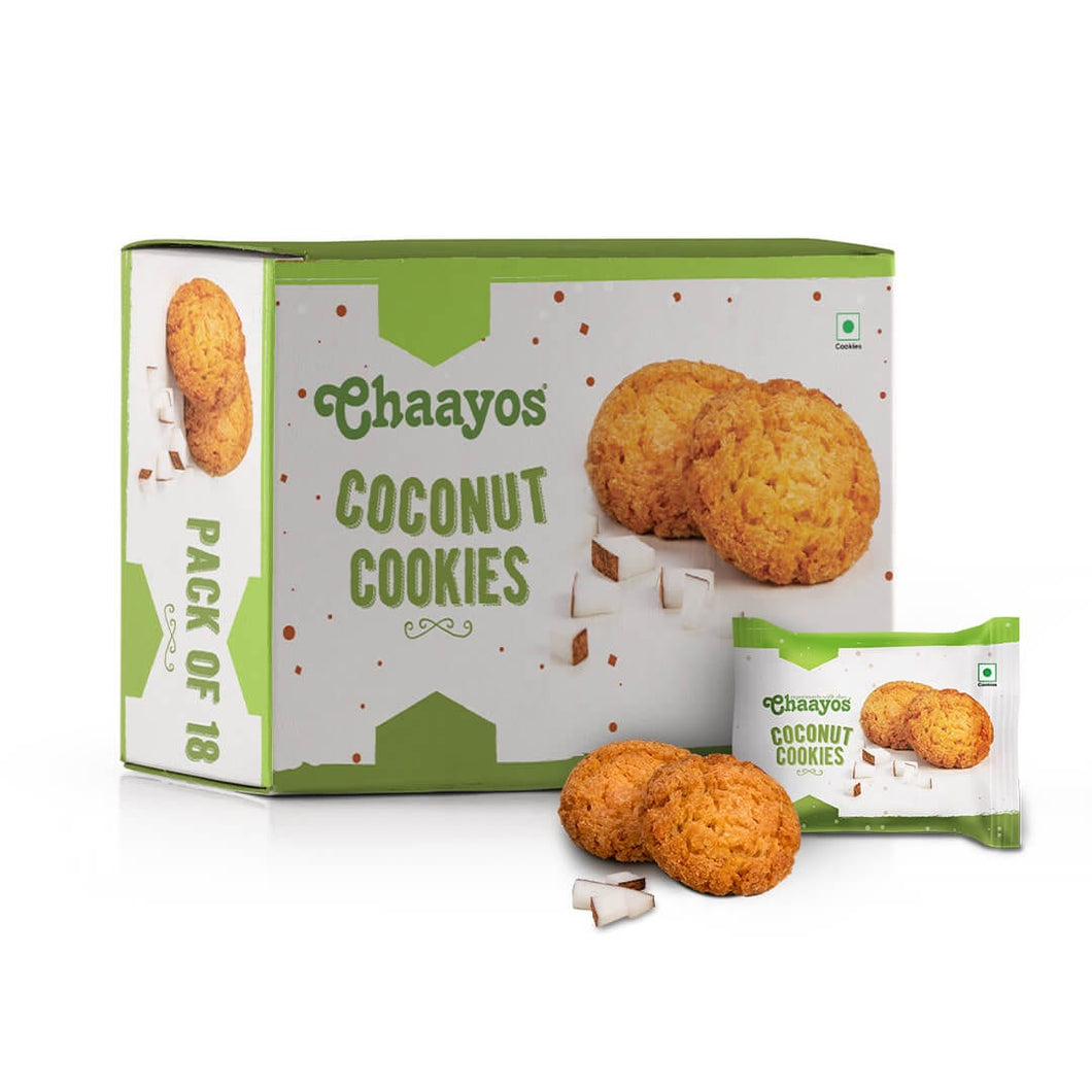 Coconut Cookies - 450g (18 Packs)