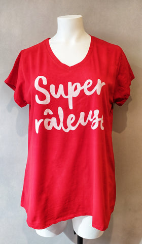 T-shirt Super Râleuse - Rouge
