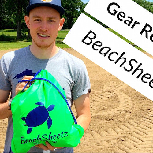 Beachsheetz review: an outdoor blanket with weighted corners