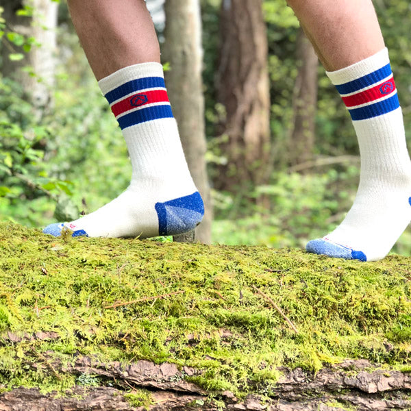 This Week in Outdoor Gear Startups: Cloudline Releases Retro Style Hiking Socks