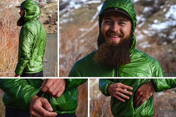 Enlightened Equipment Torrid Apex Synthetic Jacket Gear Review UL Lightweight Ultralight Backpacking Thru-Hiking