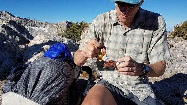 Fastpack Nutrition Food Eating Tips Jeff Trail Butter