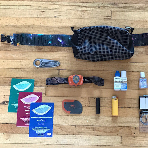 Fanny Packs for Backpacking? An organizational dream!
