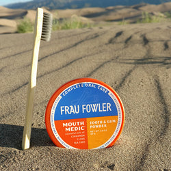 Frau Fowler: A Holistic Approach to Powdered Toothpaste