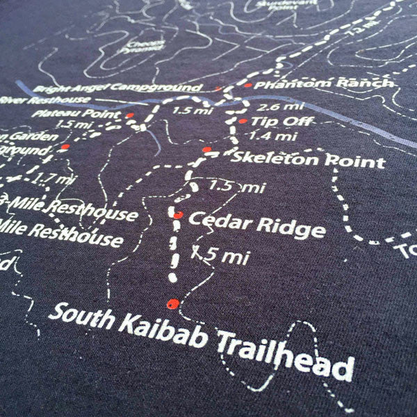 Trail Map Tees: how a Grand Canyon t-shirt grew into a biz