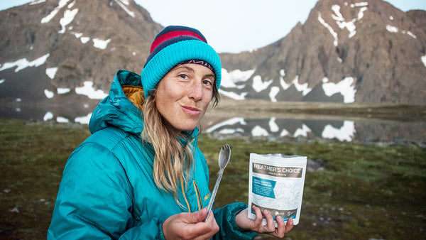 Heather's Choice Healthy Backcountry Backpacking Food Meals Snacks