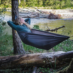 UL Lightweight Hammock Kammock Roo Review Backpacking Hiking Camping